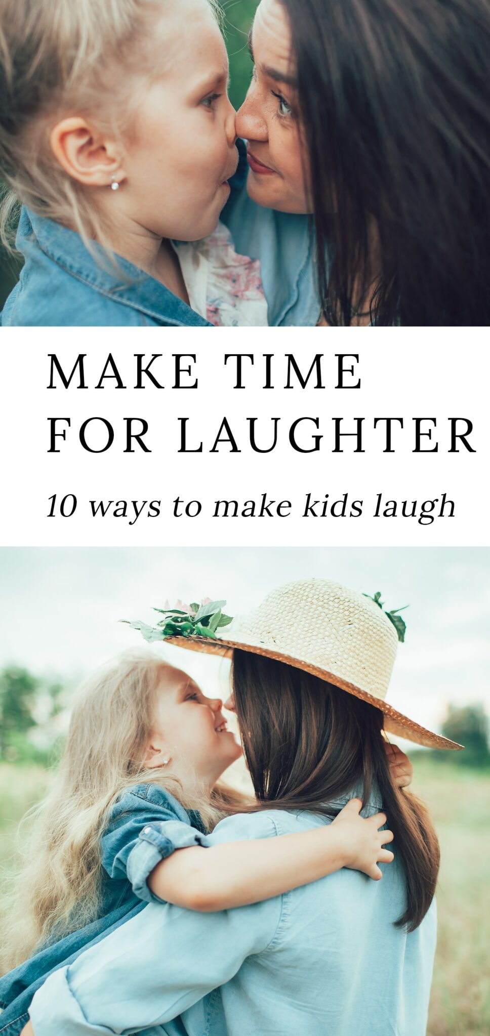 10 Ways to Make Kids Laugh