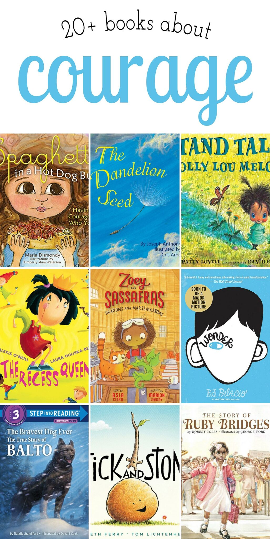 20+ Children's Books About Courage