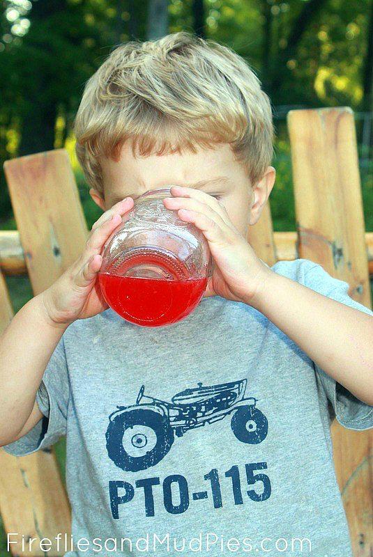 Homemade Raspberry Lemonade - Fireflies and Mud Pies