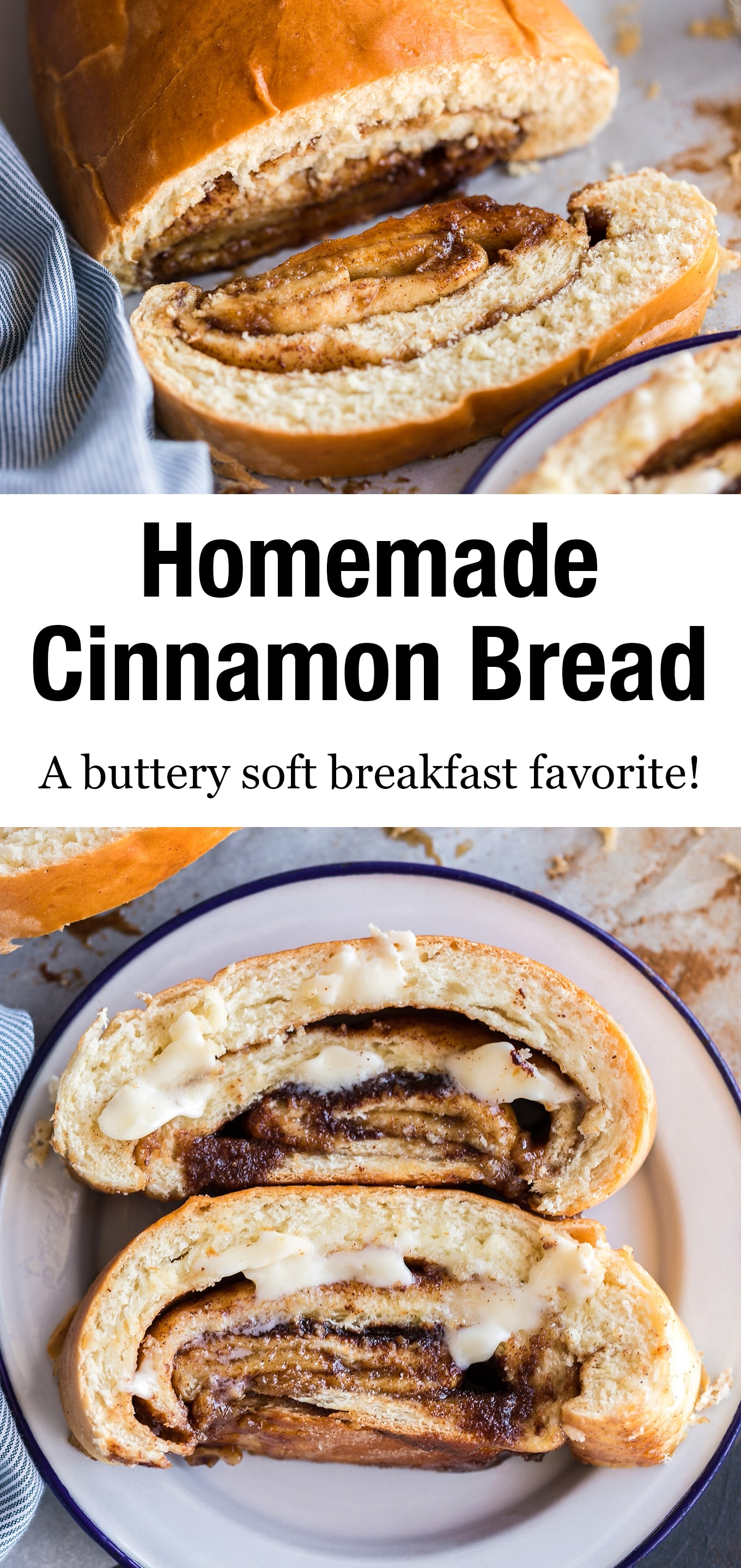 Bursting with gooey brown sugar and rich cinnamon flavor, this buttery soft cinnamon swirl bread is a breakfast favorite! #cinnamonswirlbread #cinnamonbread #breakfast via @firefliesandmudpies