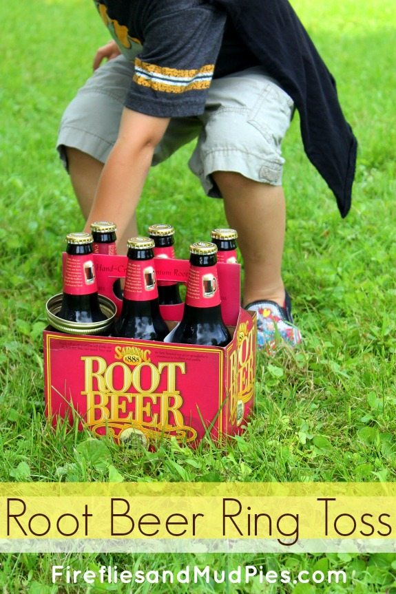root beer ring toss