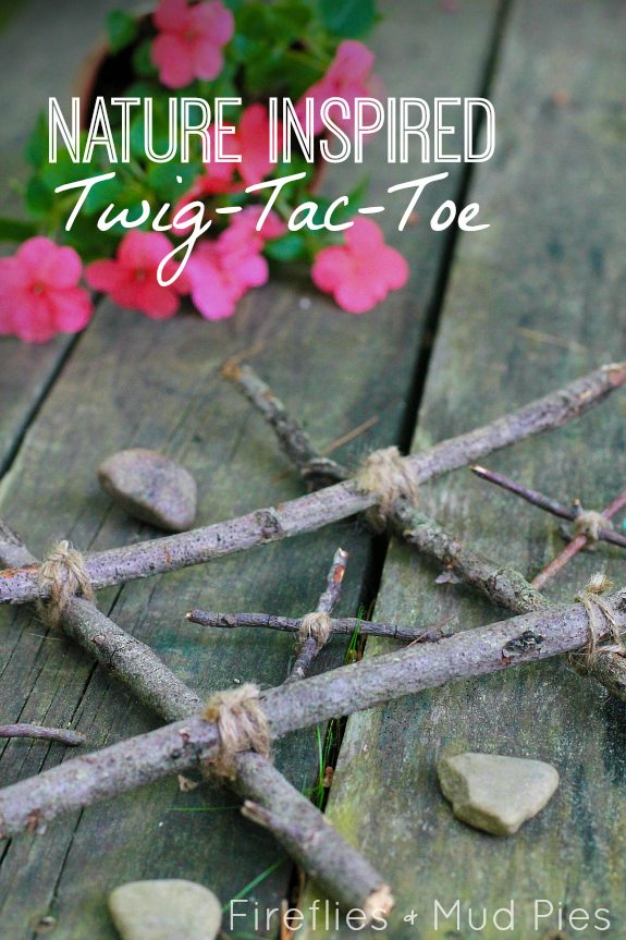 Nature Inspired Twig-Tac-Toe
