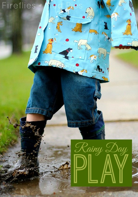 Rainy Day Play Ideas for Kids