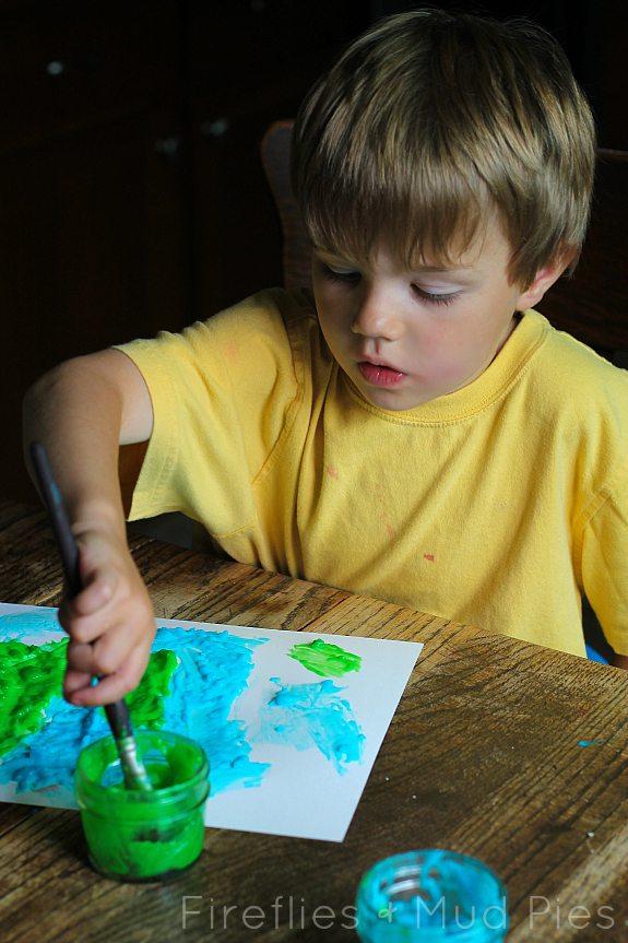 Homemade Paint Recipe - Fireflies and Mud Pies