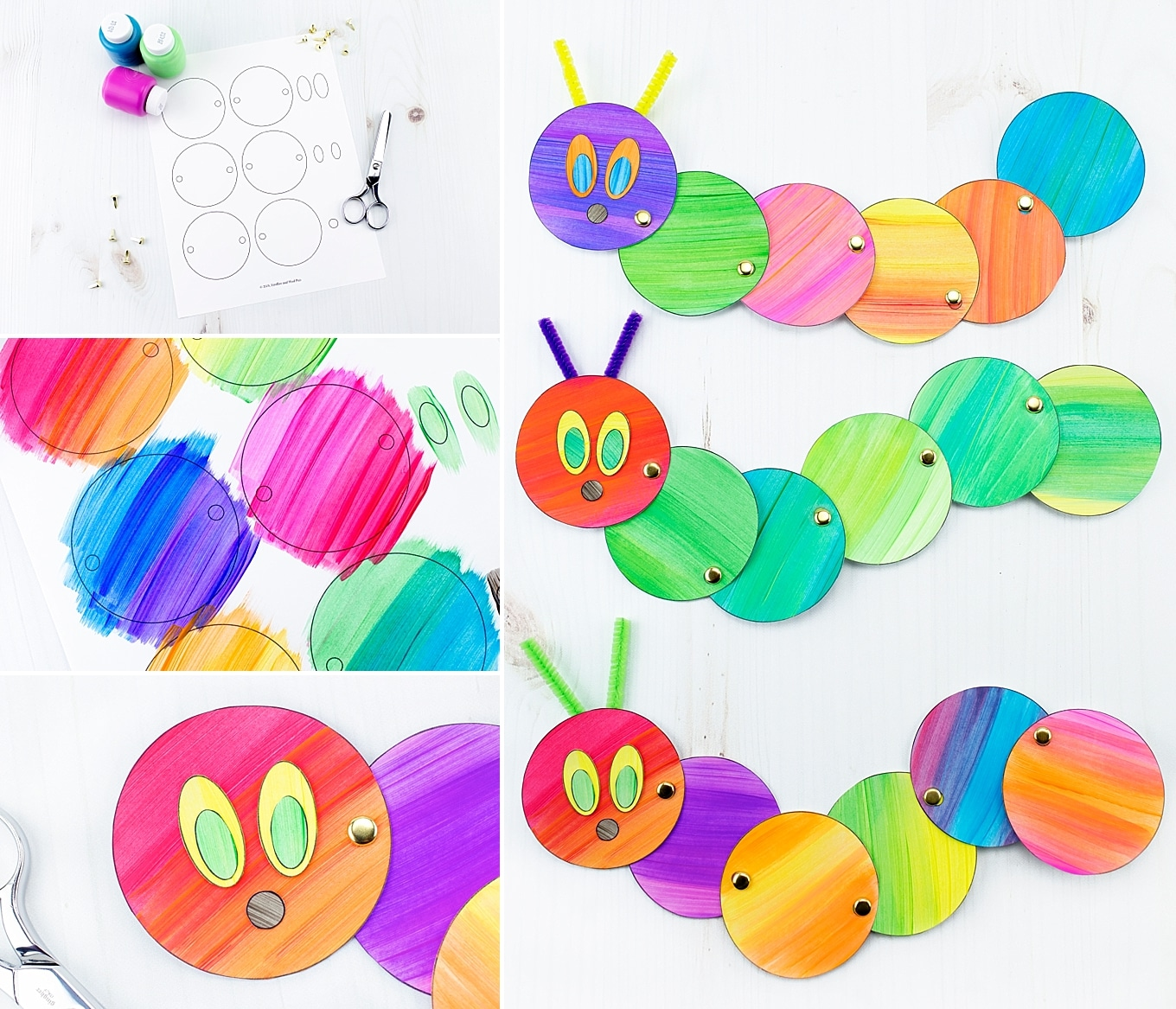 Easy and Fun Caterpillar Craft