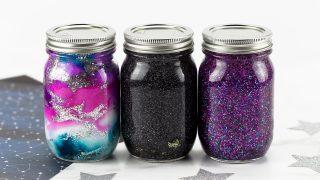 Galaxy Glitter Jars