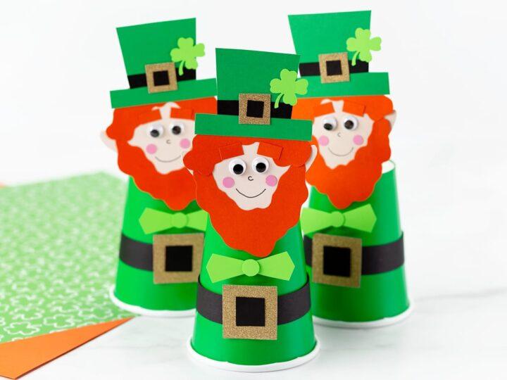Paper Cup Leprechaun