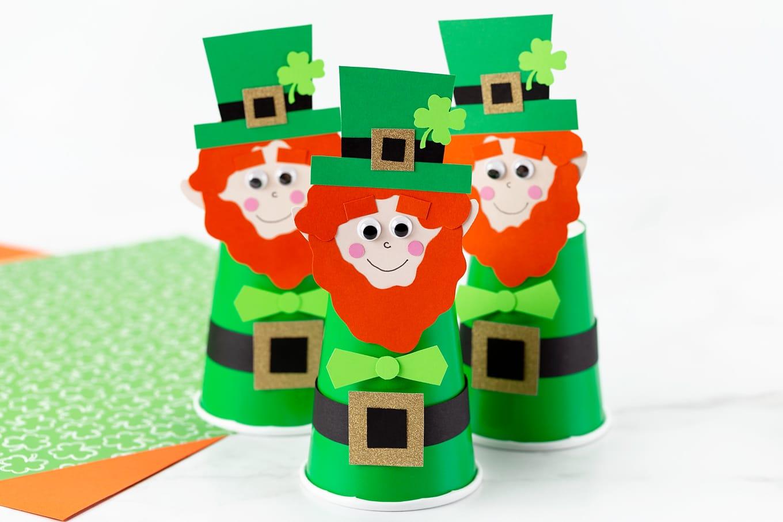 Easy Leprechaun Craft for Kids