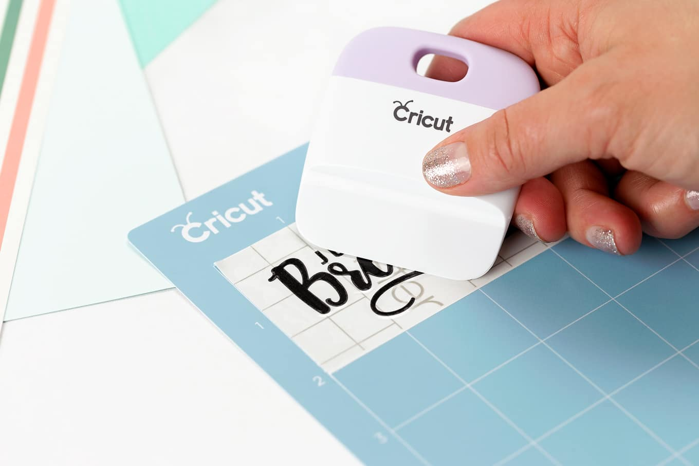 Burnishing Cricut Transfer Tape