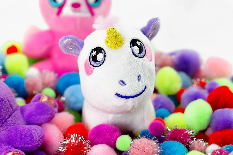 Unicorn Squeezamal Toy