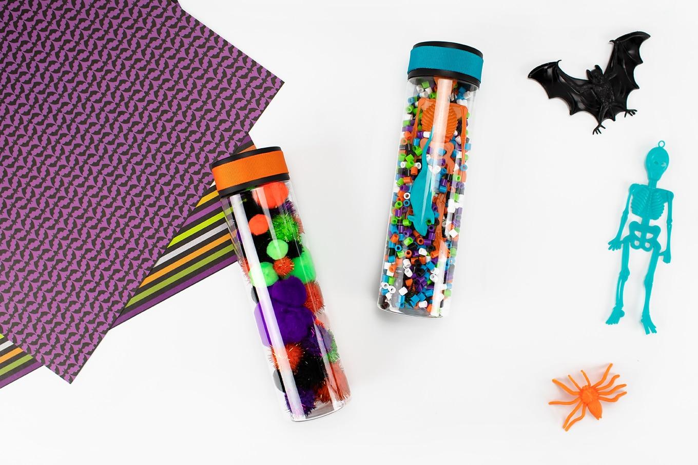 2 Halloween Sensory Bottles