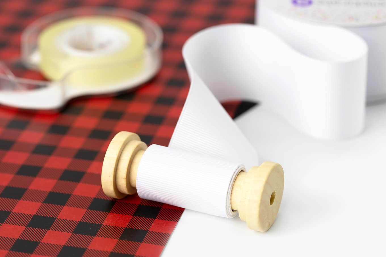 Toilet Paper Ornament In-Process