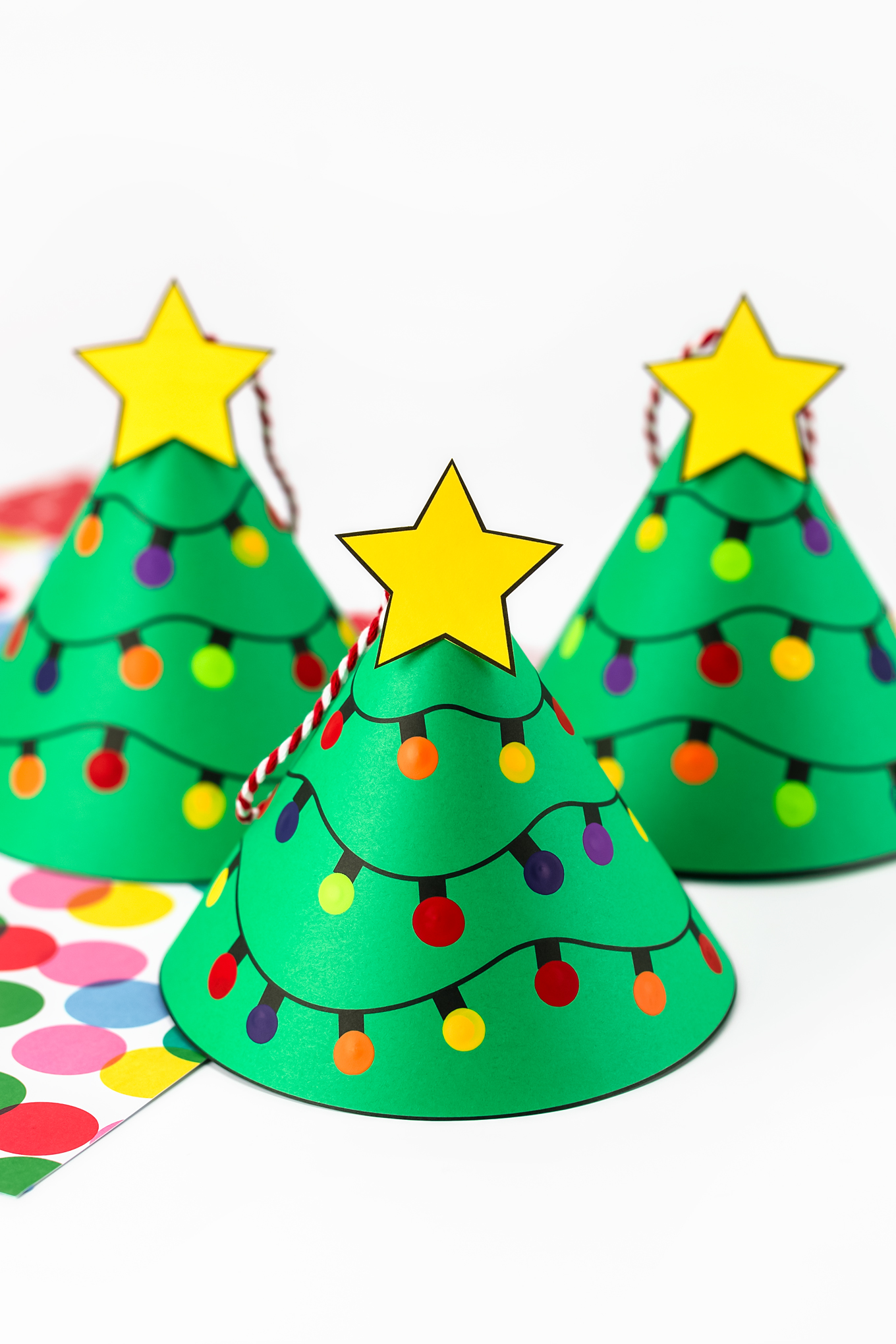 Best Paper Christmas Tree Craft for Kids