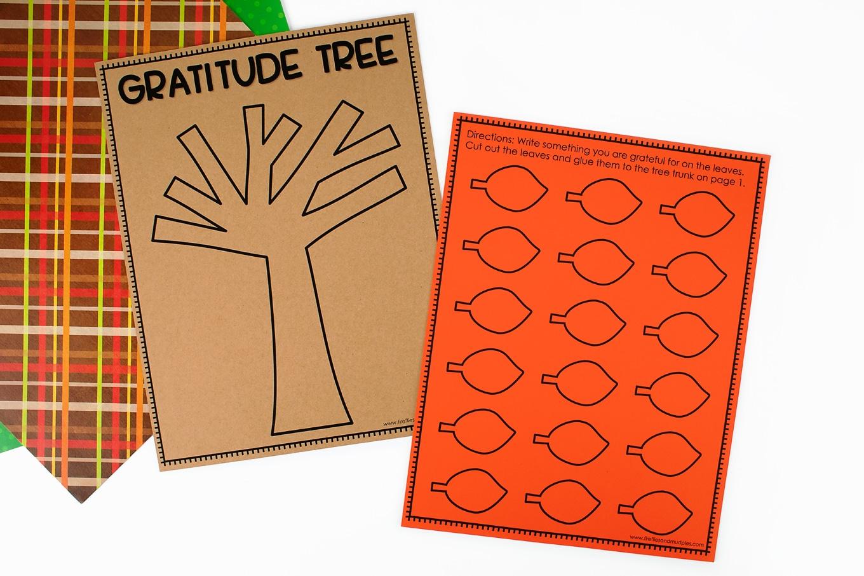 Free Printable Gratitude Tree Template