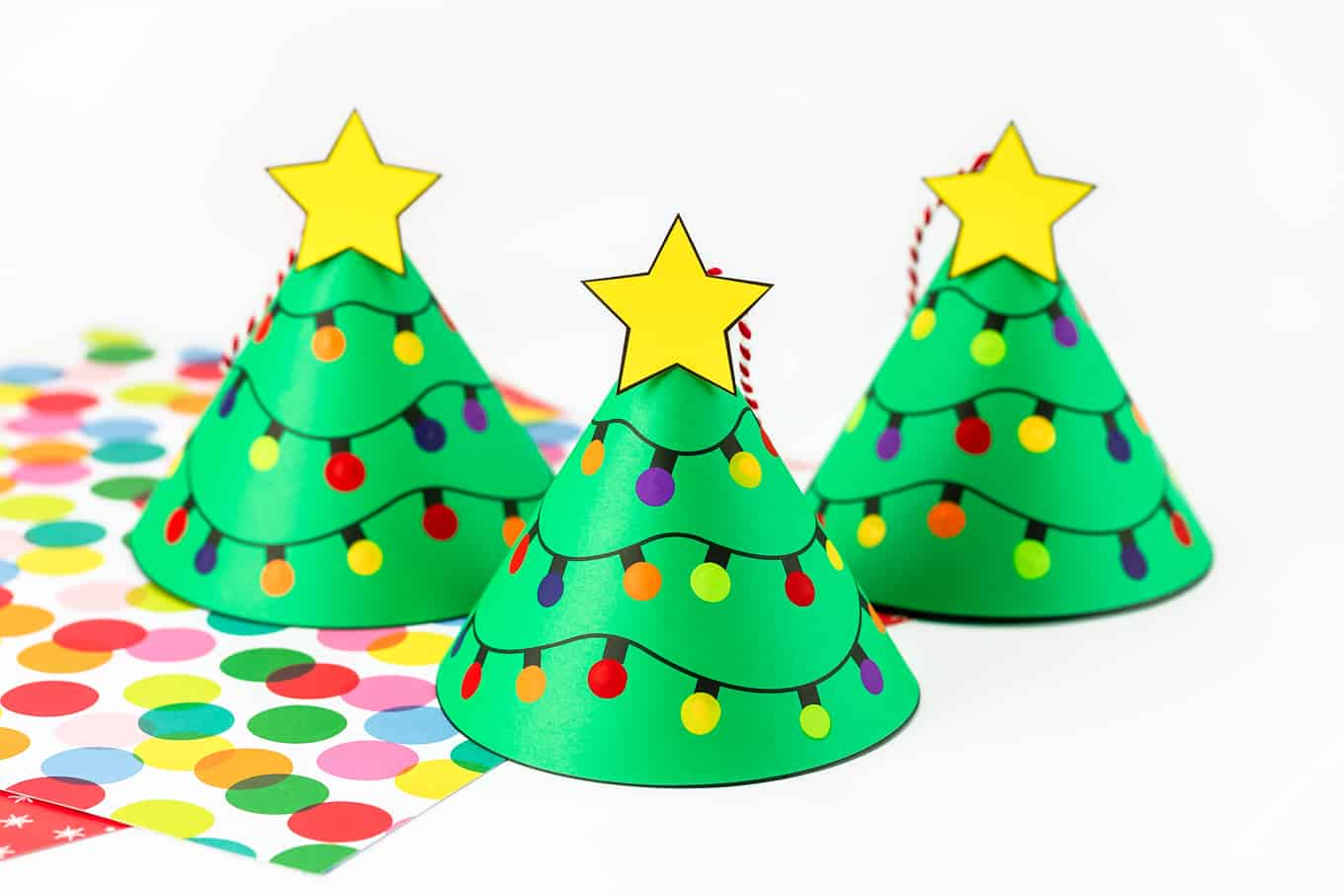 Christmas Tree Cone Ornament