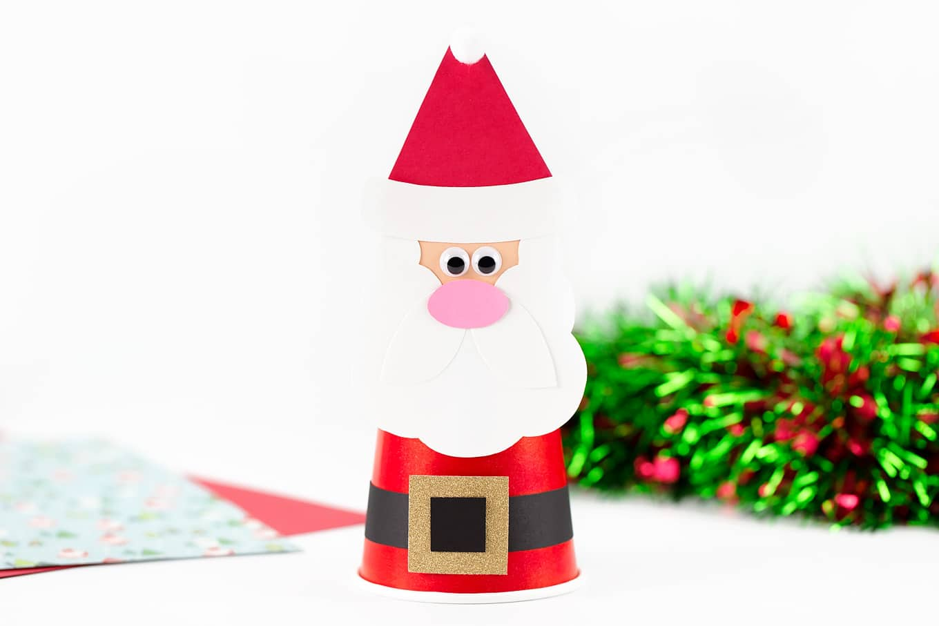 Easy and Fun Santa Craft for Kids