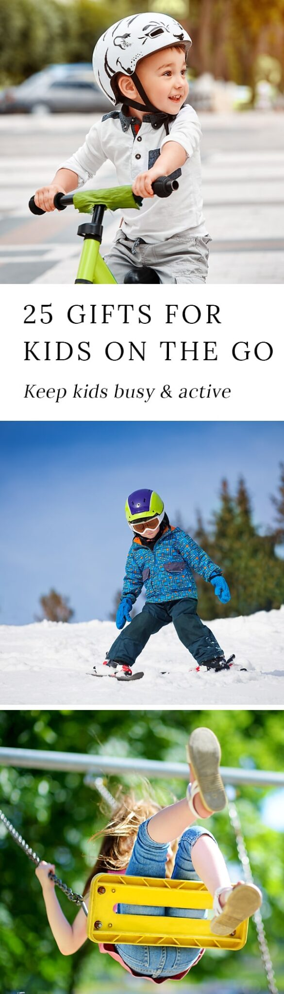 Are you shopping for a kid who is always on the go? If so, we've got you covered! Discover 25 unique gifts that are perfect for kids who love to move.
