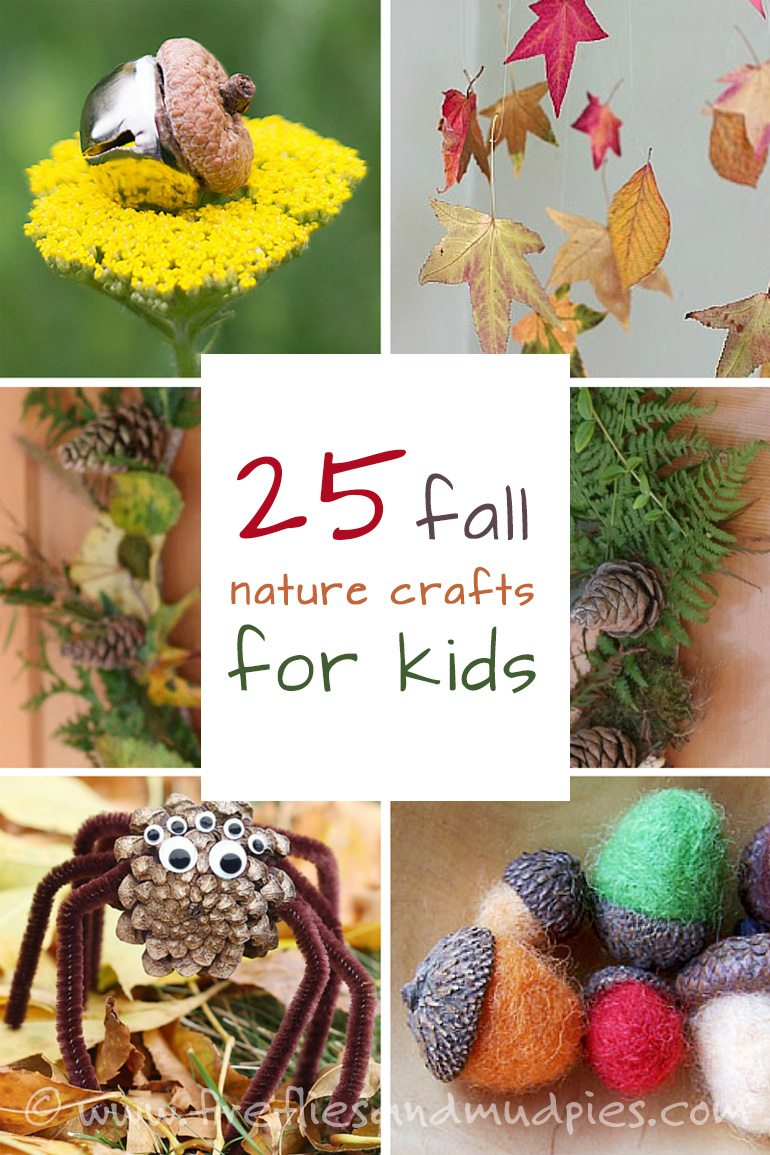 25 Fall Nature Crafts for Kids
