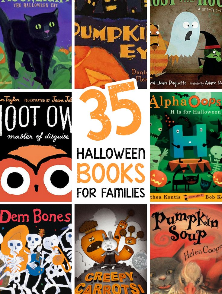 35 Halloween Books for Families