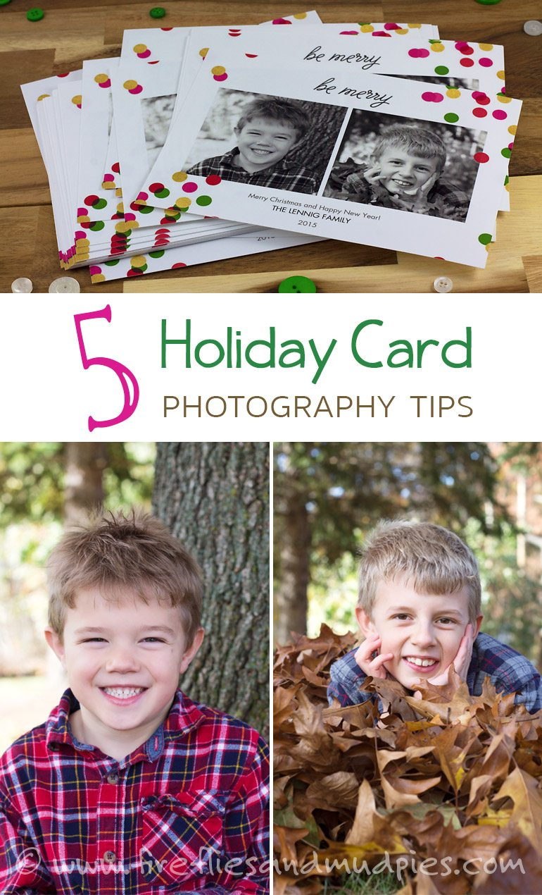 5 Holiday Card Photography Tips