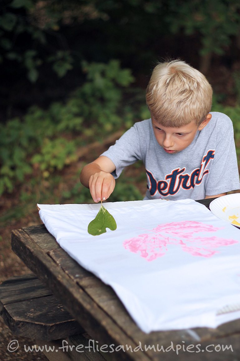 A fun nature craft for kids!