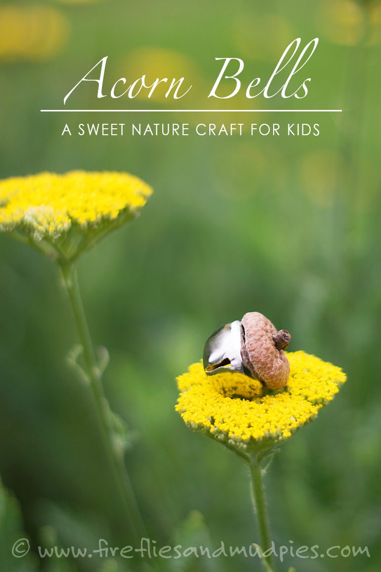 Acorn Bells: A Sweet Nature Craft for Kids | Fireflies and Mud Pies