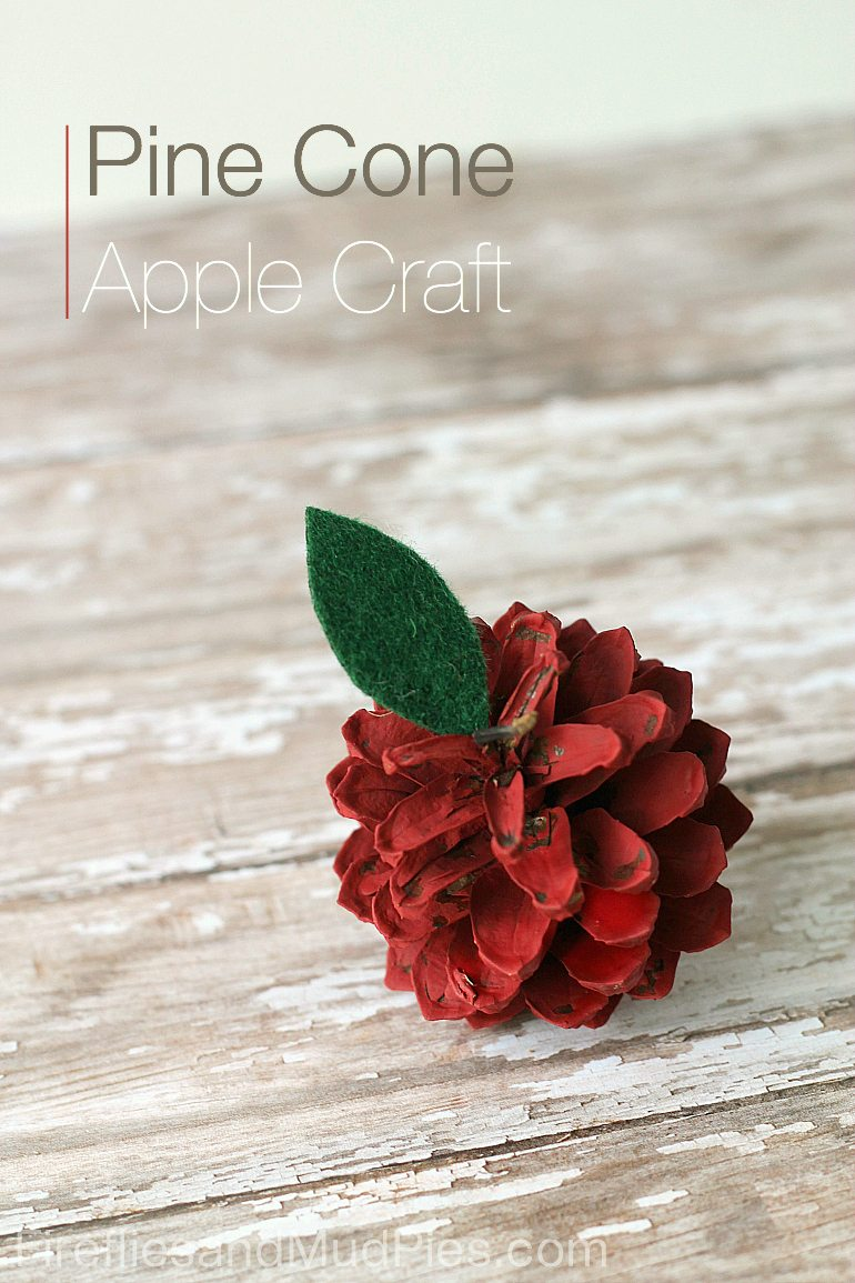 Apple-Pine-Cone-Craft-for-Kids-Fireflies-and-Mud-Pies