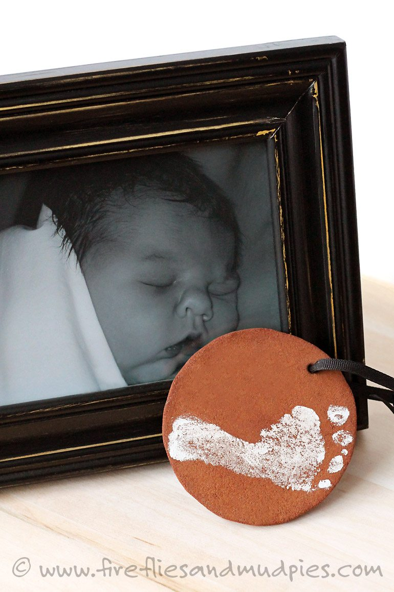 Keepsake Baby's First Christmas Ornament | Fireflies and Mud Pies