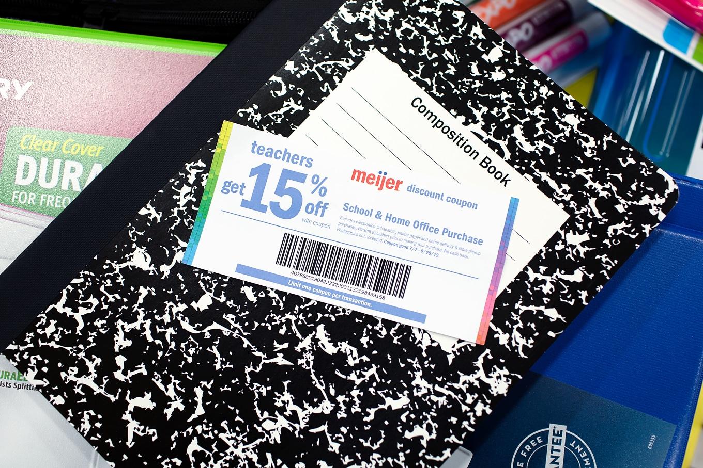 Meijer Teacher Discount Coupon