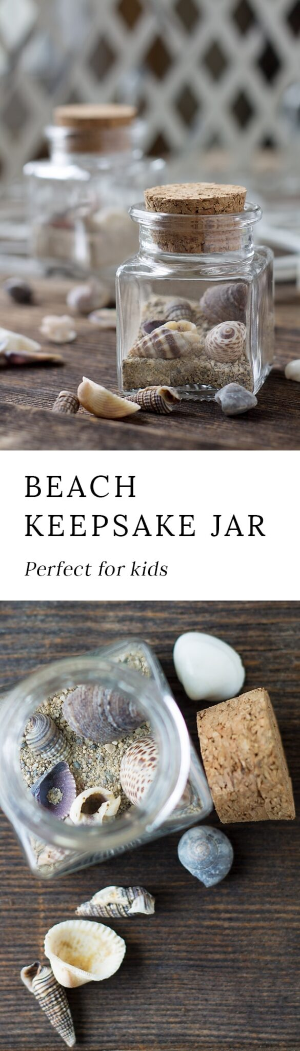 This Simple Beach Keepsake Craft is the perfect DIY souvenir for kids to remember their special seaside adventure!