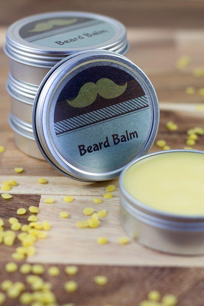DIY Cedar Wood Beard Balm - Handmade Gift for Men