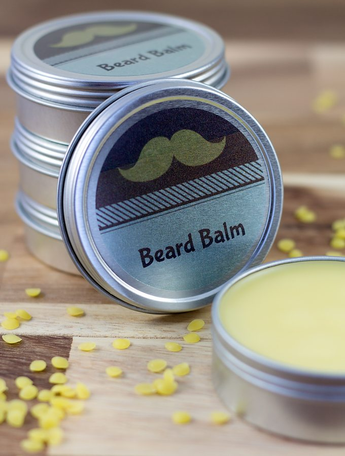 DIY Cedarwood Beard Balm