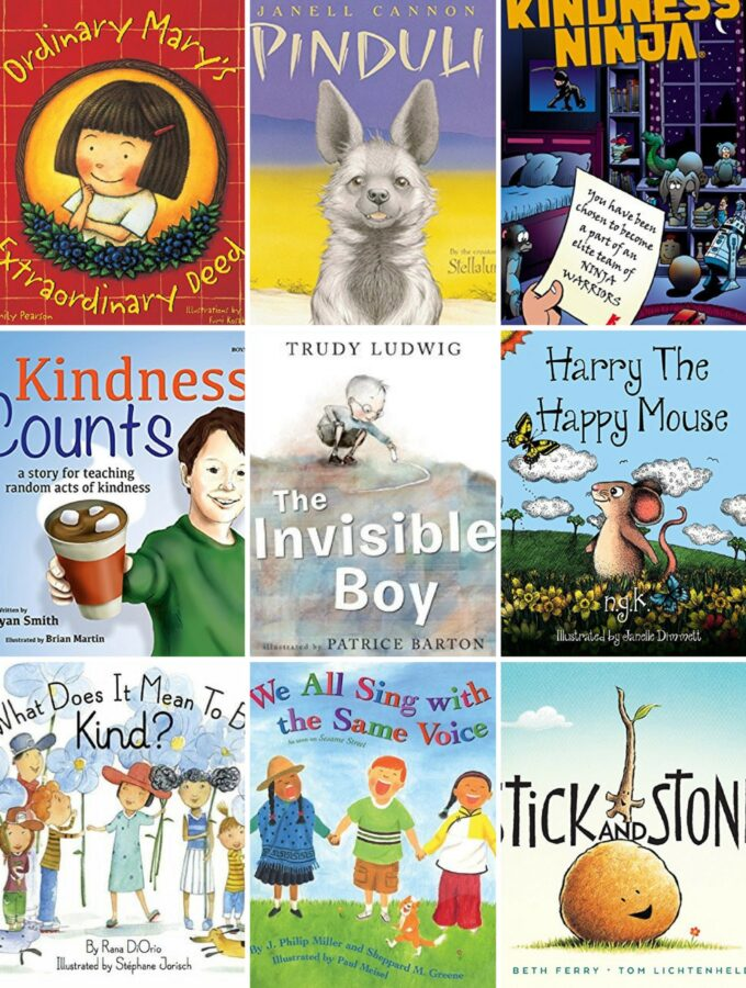 40+ Powerful Books for Kids that Encourage Kindness