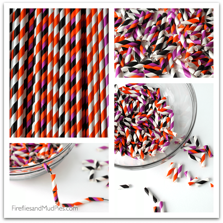 Bright straws make beautiful beads! — Fireflies and Mud Pies