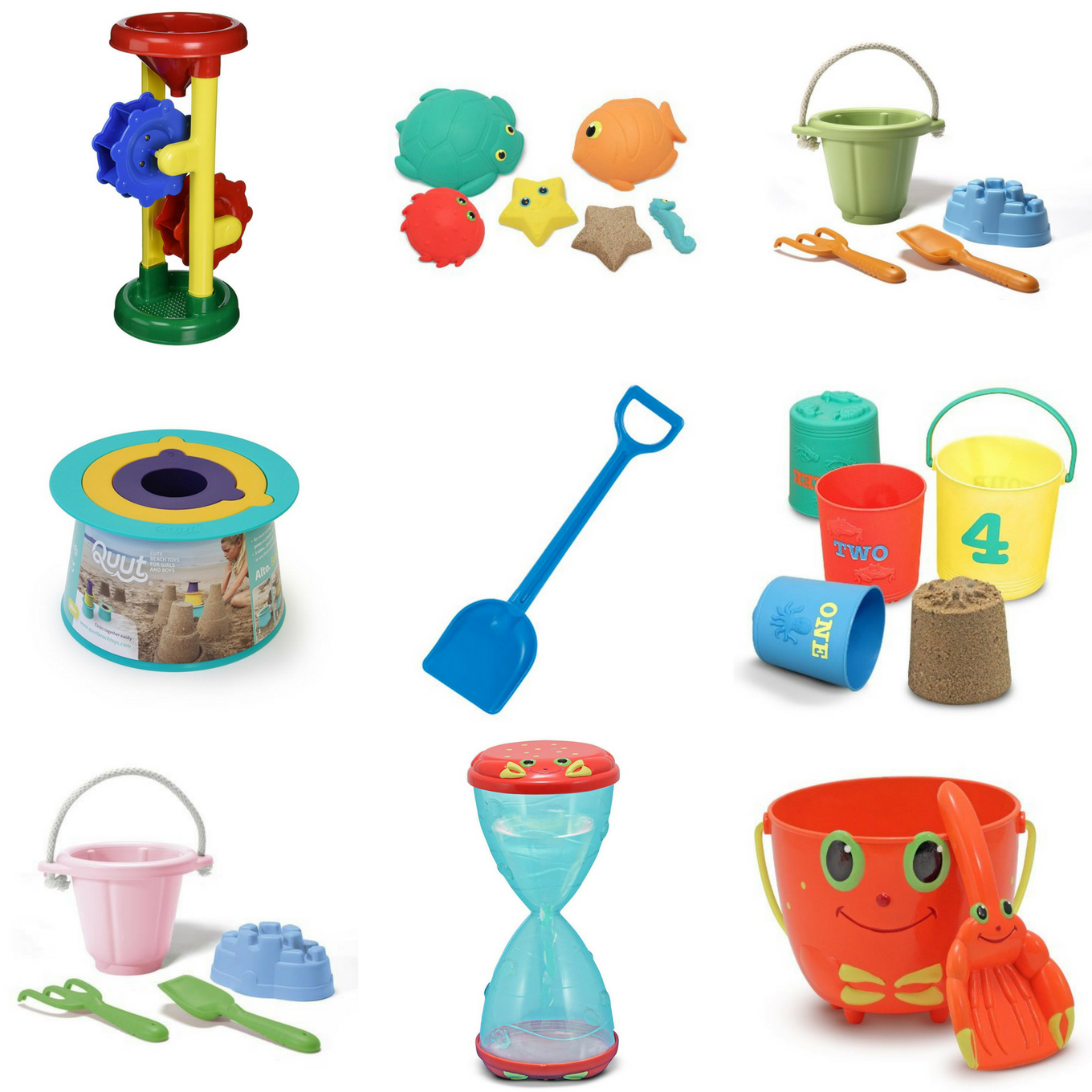 The Best Basic Sand Toys for Kids