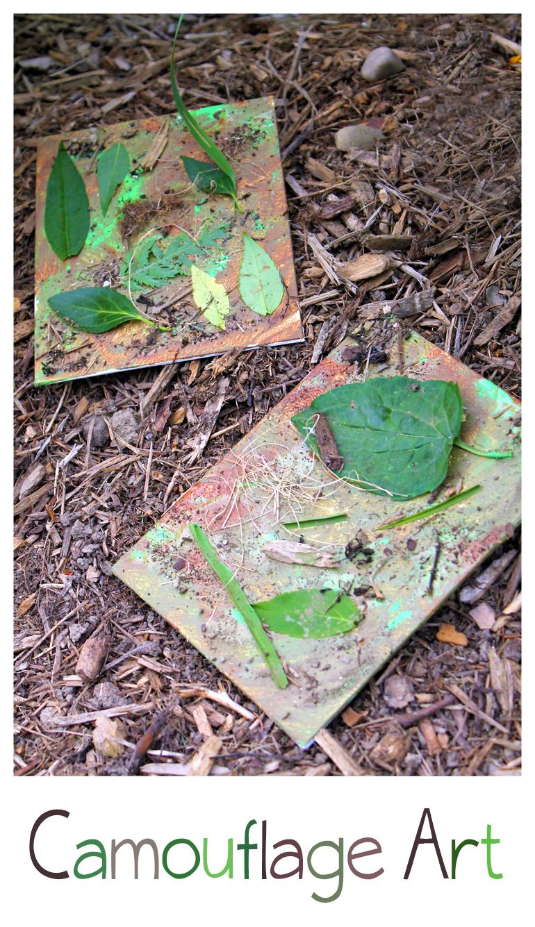 Camouflage Art | Fireflies and Mud Pies