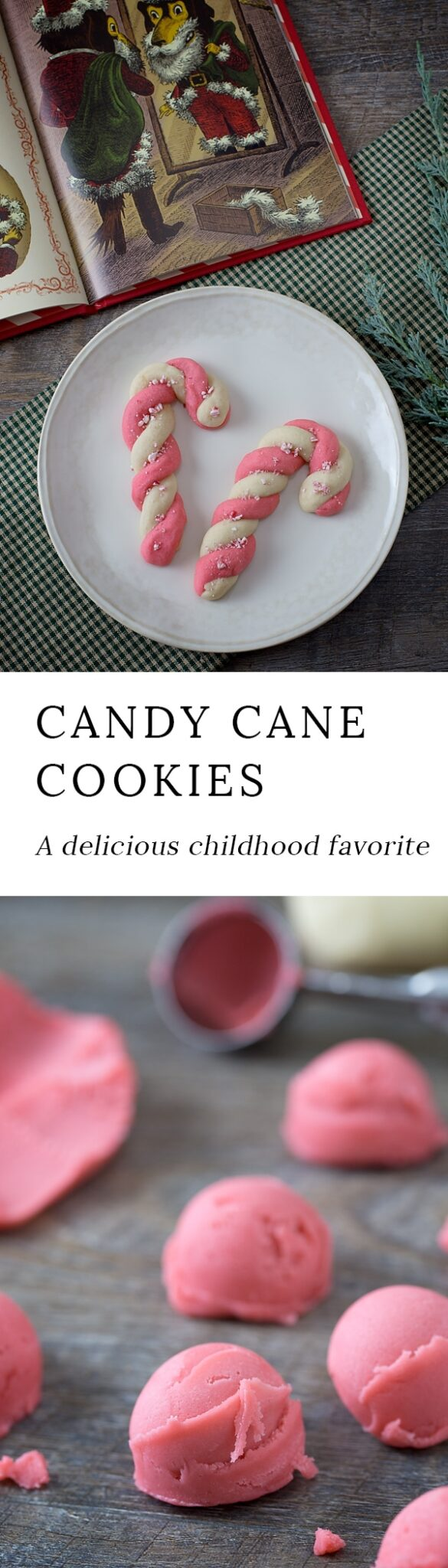 Delight kids and the young at heart this Christmas with Peppermint Candy Cane Cookies. A classic Christmas cookie, perfect for the holidays.
