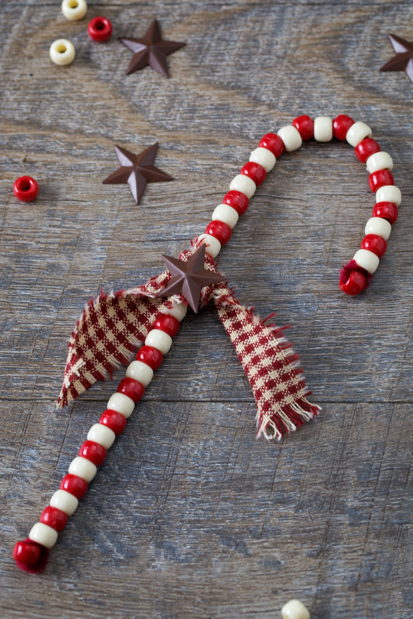 Easy and Fun Candy Cane Ornaments