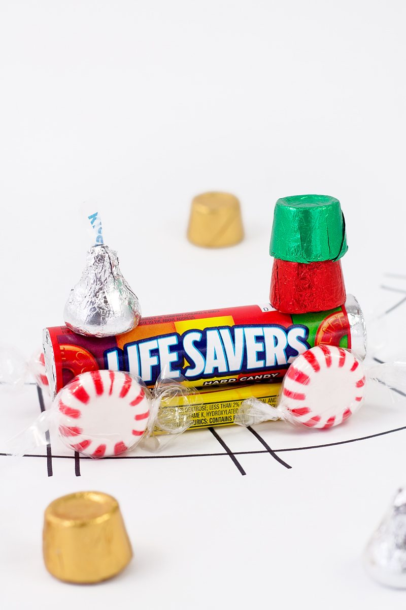 How to Make a Candy Train