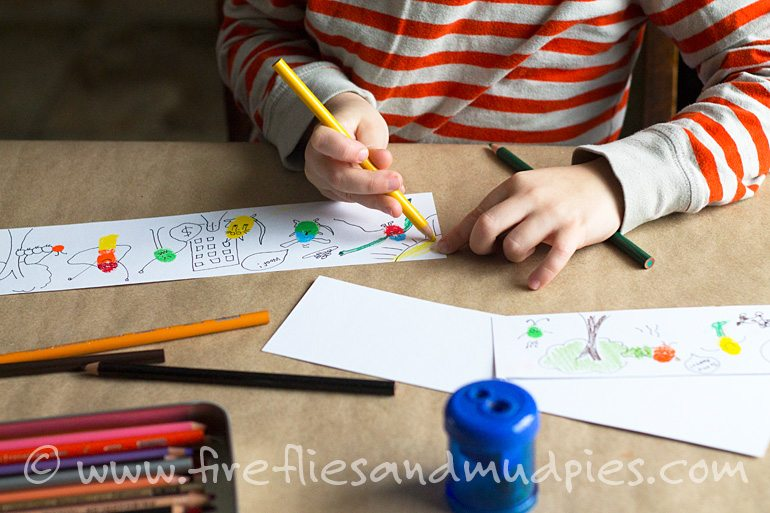Cartooning with Kids | Fireflies and Mud Pies