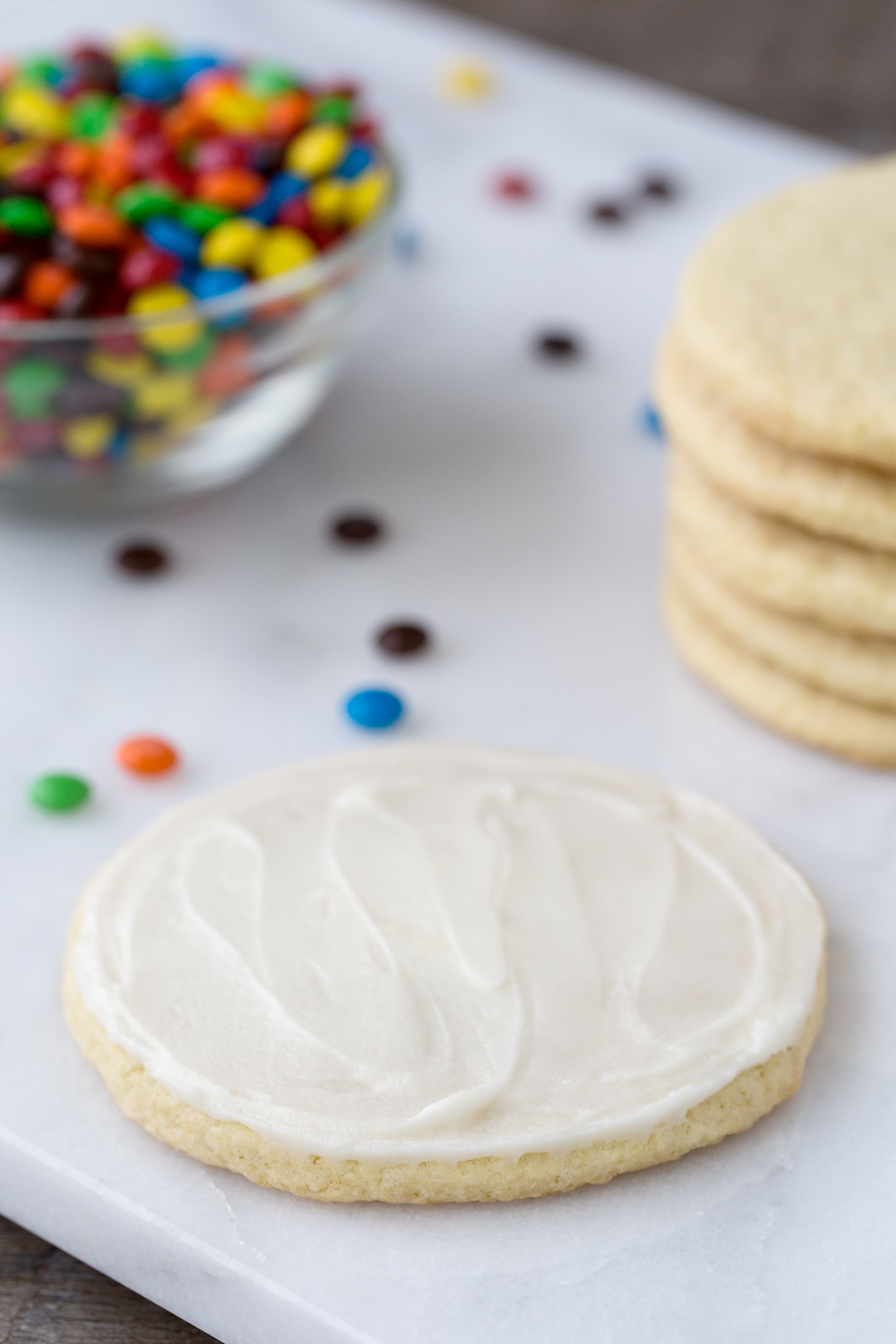 Sour Cream Cookie with Creamy Homemade Buttercream Frosting