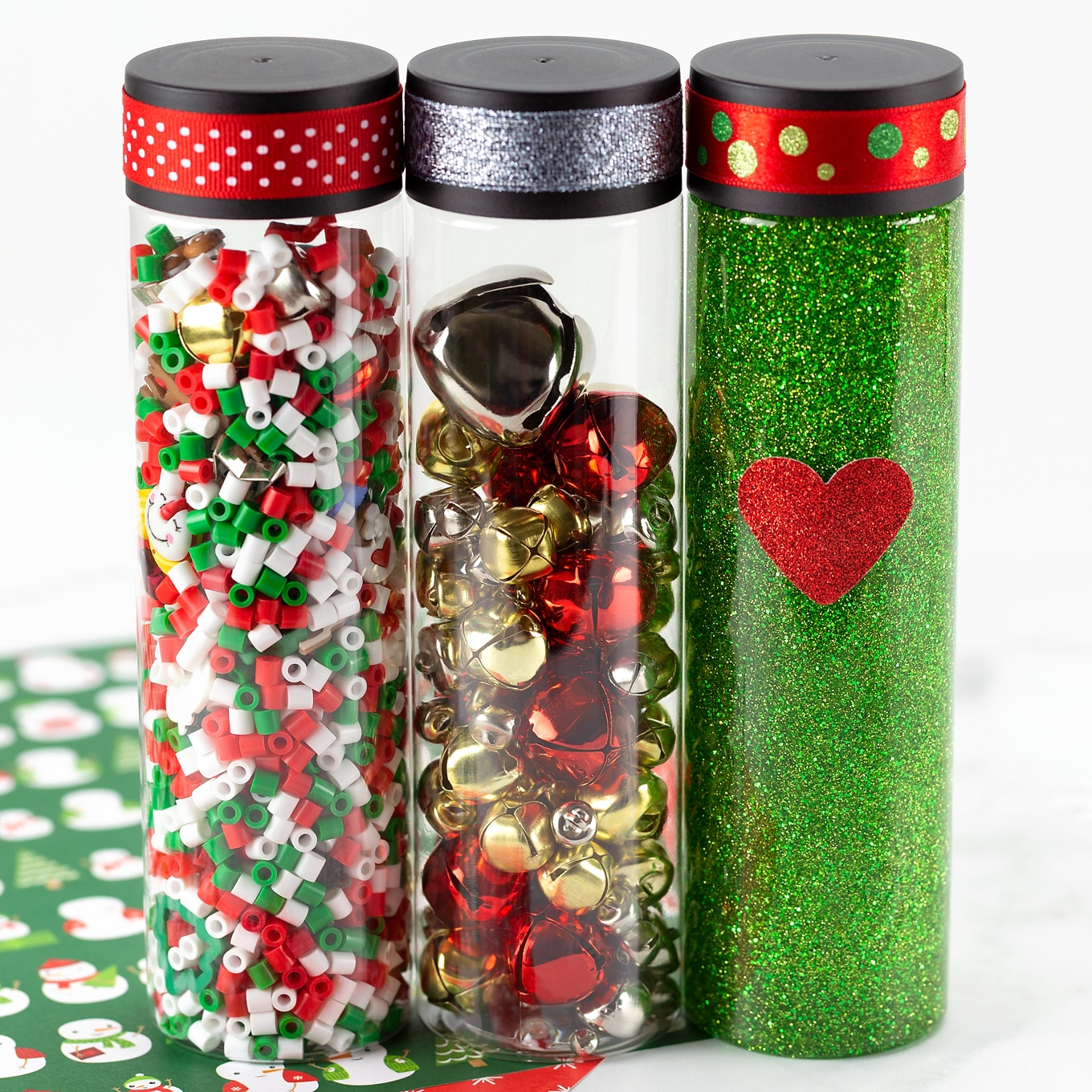 Christmas Sensory Bottles Fireflies And Mud Pies