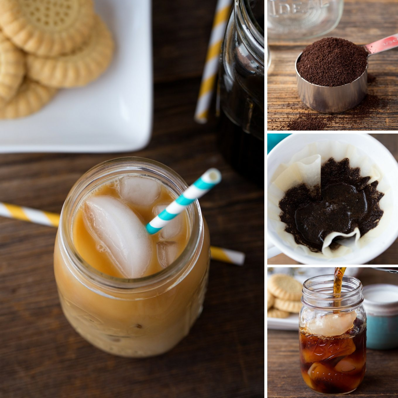 how to prepare cold coffee in home