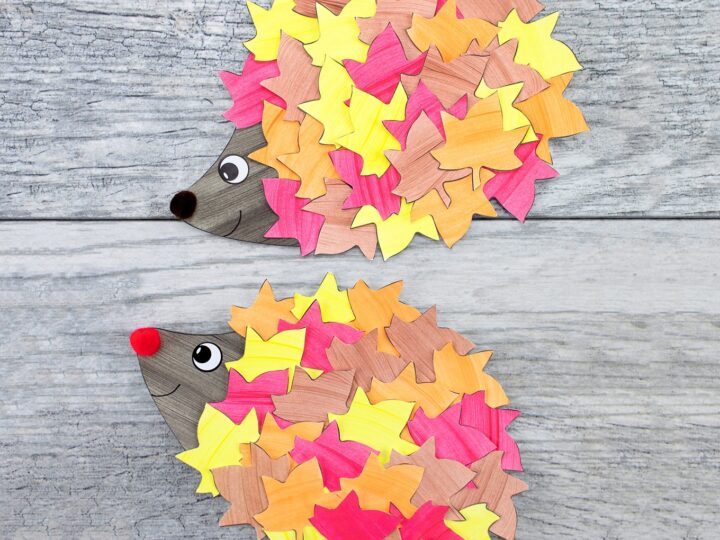 Fall Hedgehog Craft