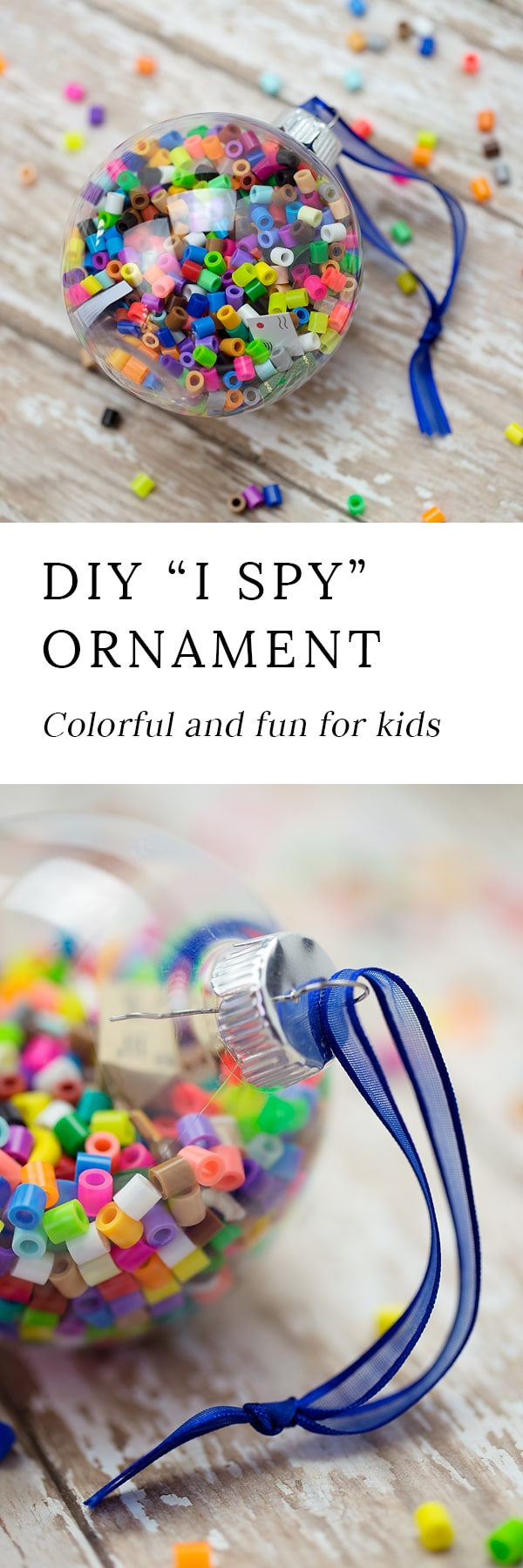 Crafters of all ages will enjoy making colorfulI Spy Christmas Ornaments to gift or keepthis holiday season. They are easy, fun, and perfect for home or school.