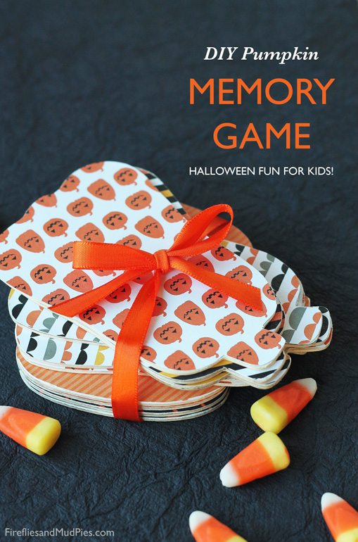 DIY Pumpkin Memory Game for Kids| Fireflies and Mud Pies