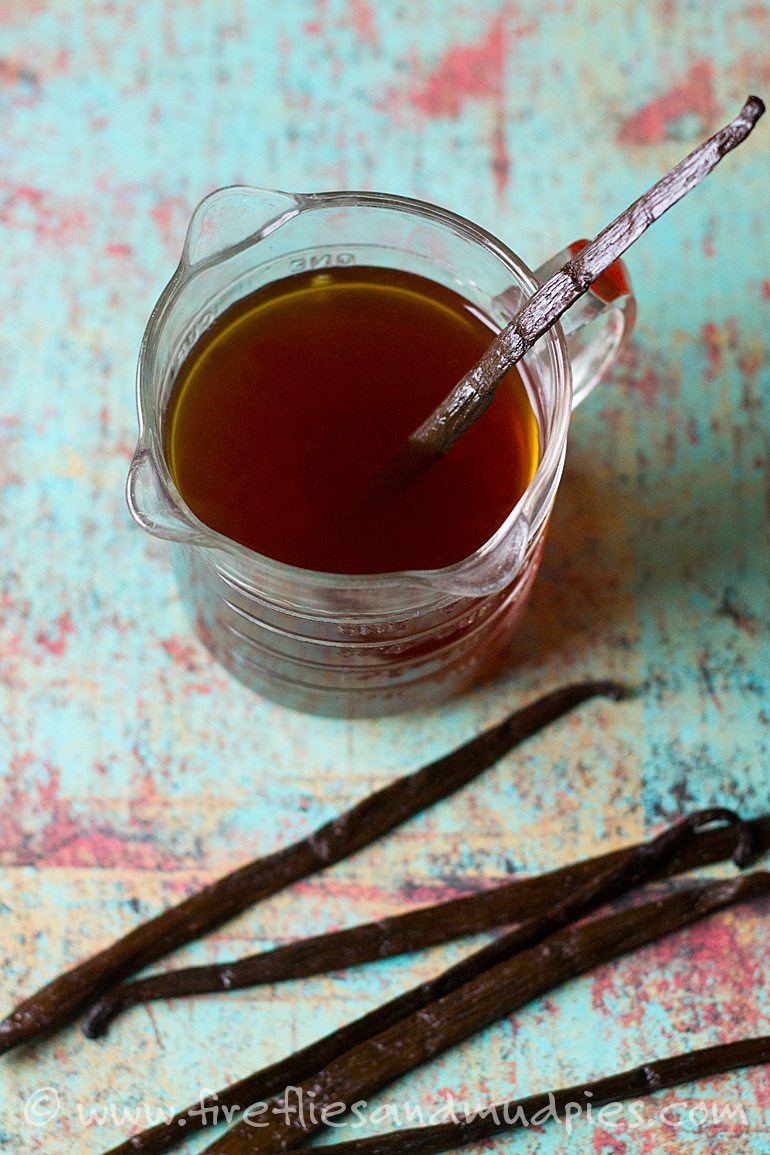 DIY Vanilla Extract | Fireflies and Mud Pies