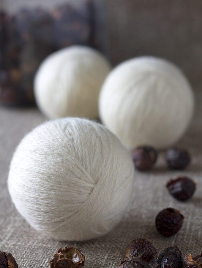 How to Make Wool Dryer Balls
