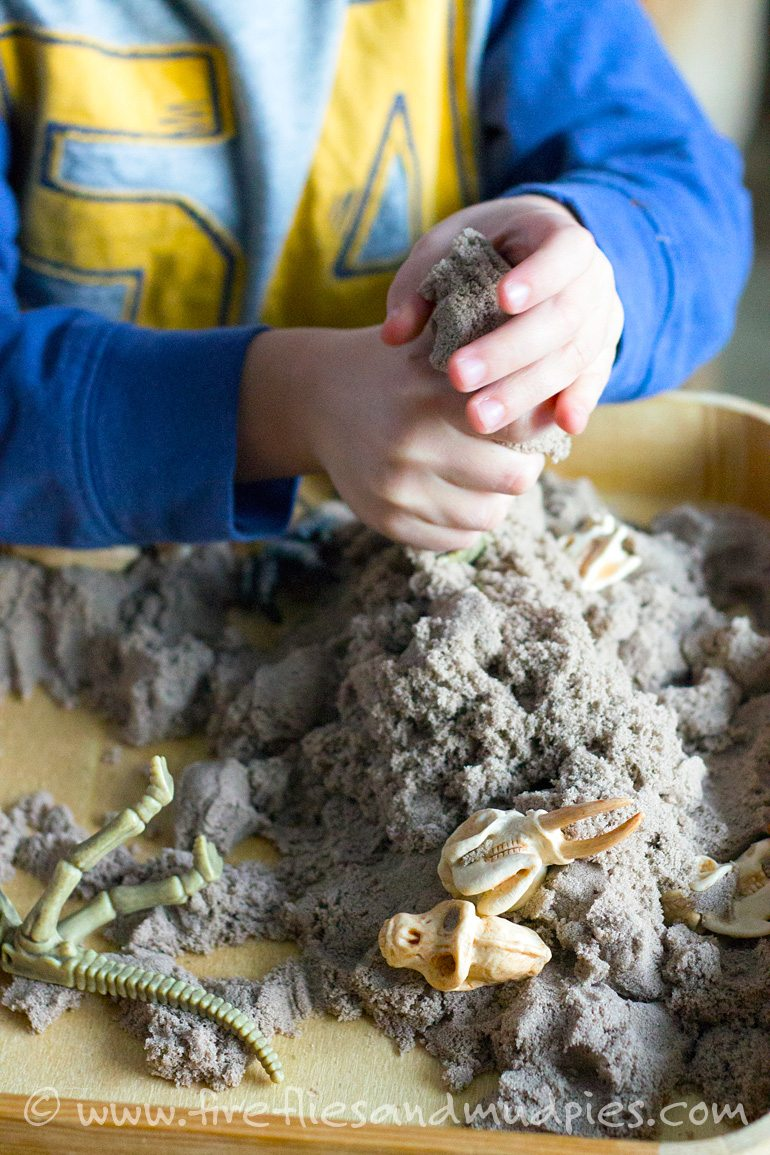 Preschool Dinosaur Dig | Fireflies and Mud Pies