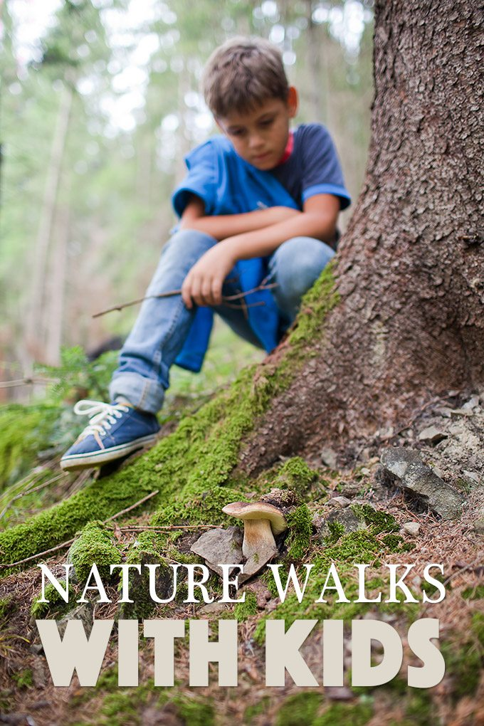 Real tips from a former Outdoor Educator for taking children on meaningful nature walks
